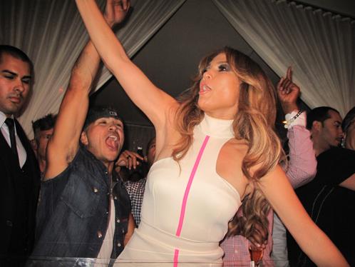 Jennifer Lopez délibérée fait sensation à Las Vegas