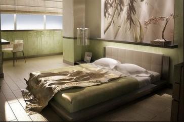 Une chambre à coucher où l'amour circule