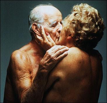 L'amour des personnes âgées