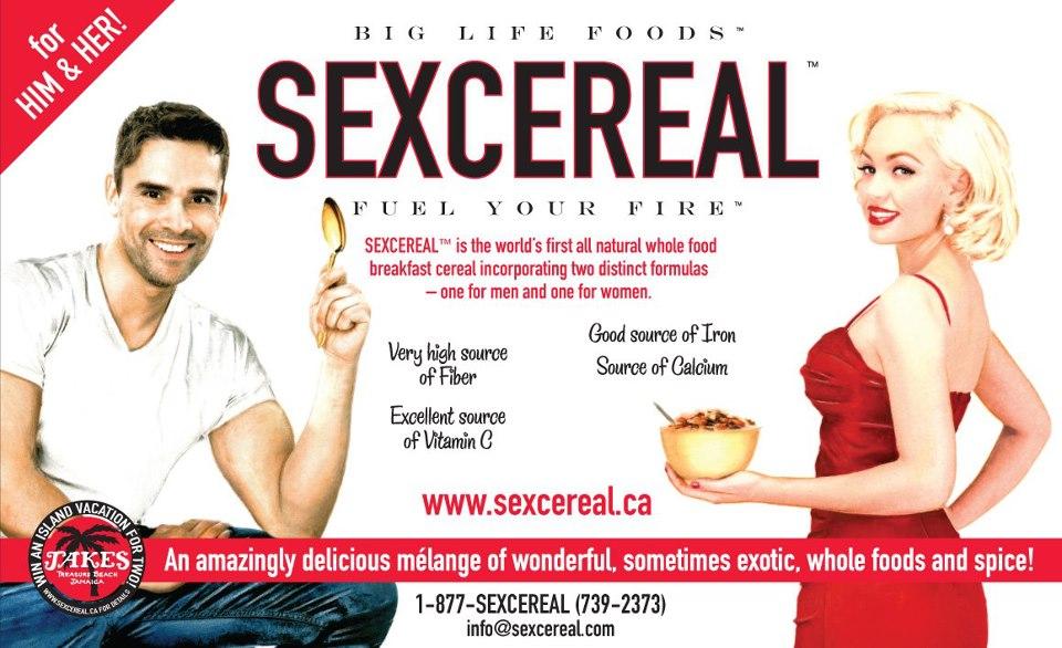 Les céréales aux aphrodisiaques pour le petit déjeuner