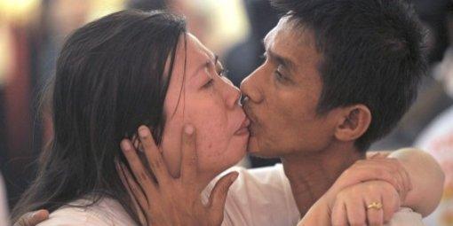 Nouveau reccord du plus long baiser
